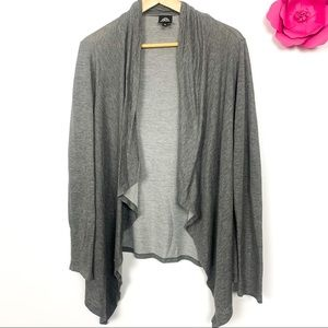 2 for 25 Bobeau cardigan grey size M